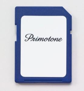 【送料無料】Primotone (プリモトーン) 専用SDカード ダウンロード用 50曲バージョン(イーユニット 生活雑貨 おしゃれ オシャレ雑貨 音楽