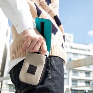 スマホポーチ メンズ ベルト DAYポーチ ケース スマホ ポーチ iPhone8/7 iPhone6s/6 iPhoneSE/5s/5c/5 カード収納 小銭入れ コインケース