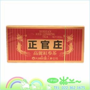 【送料無料】正官庄 高麗紅蔘茶 3g×30包【大木製薬】【4987030701823】