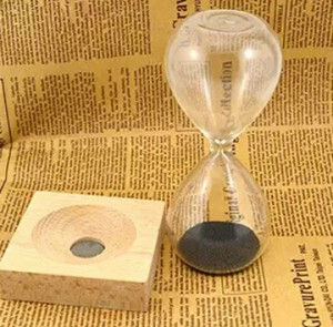 砂鉄時計 インテリアに馴染むシンプルなデザイン プレゼントにも MH60
