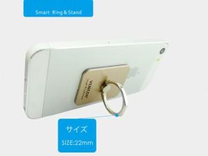 スマートリング iphone6/iphone7対応 バンカーリング 落下防止 リングスタンド スマホ全般 スマートフォン 液晶破損防止 SMARTRING