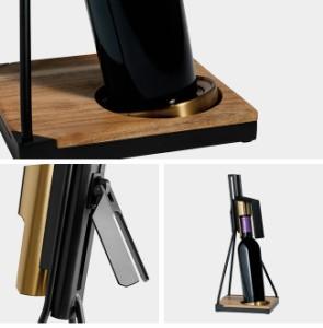 RBT テーブルトップ コルクスクリュー 020CF3283(シンプルなデザインのワインオープナー コルクの栓を抜くキッチン用品)【送料無料】