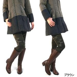 牛革 ロングジョッキーブーツ 本皮 レザー 伸びる履き口&ふくらはぎ ゆとり設計 ベトナム製 バックゴア仕様 (3色) 送料無料