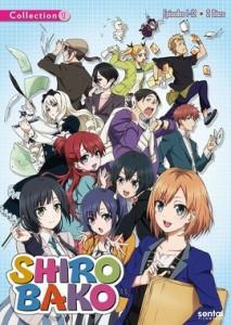 SHIROBAKO コレクション1 DVD (1〜12話収録 北米版DVD)【輸入品】