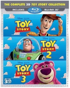 トイ・ストーリー コレクション / Toy Story 3D Trilogy (Blu-ray 3D) BD (276分収録 北米版) Blu-ray ブルーレイ【輸入品】