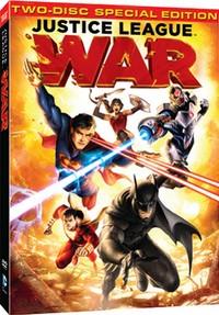 ジャスティスリーグ・ウォー 限定版 DVD (79分収録 北米版) 【輸入品】
