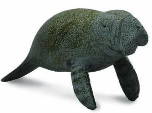 collecta (コレクタ) 海の動物 マナティー仔(泳) フィギュア おもちゃ