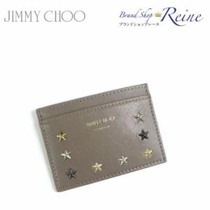 新品 ジミーチュウ(JIMMY CHOO) NOELLA スター スタッズ カードケース ICケース