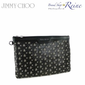 新品 SALE ジミーチュウ(JIMMY CHOO) DEREK スター スタッズ クラッチ バッグ  SALE セール