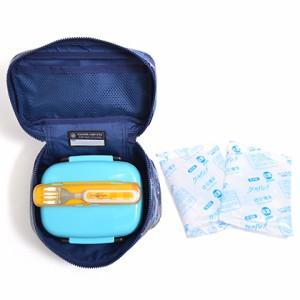 ランチバッグ 保冷弁当袋 バニティ 大海原の海遊シャーク(ネイビー) N0861000 保温保冷バッグ/お弁当バッグ/キッズ/子供