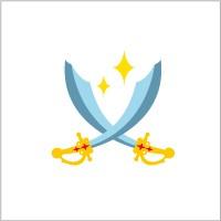 お名前シール(my目じるし アイロン 96ピース) 剣 日本製 N6411701