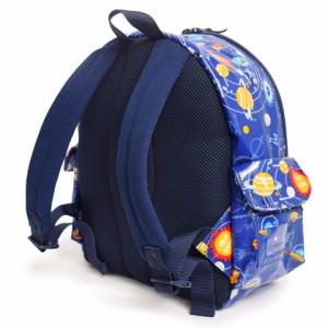 通園リュック 太陽系惑星とコスモプラネタリウム(ロイヤルブルー) N0633300 キッズ/子供/遠足/幼稚園/保育園/デイバッグ