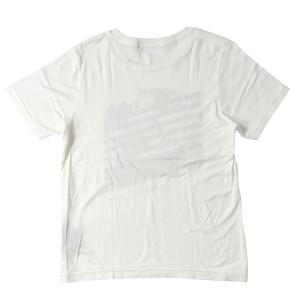MARBLES (マーブルズ) 15A/W バイアスビーチTシャツ(SQUARE Rafi jersey T-SHIRTS) 美品 ホワイト S 【K1581】