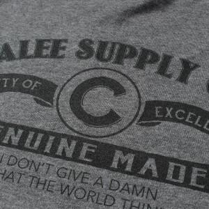 CALEE (キャリー) 17S/S ブランドロゴトリムTシャツ(TRIM T-SHIRT) グレー M 【K1626】【新品】
