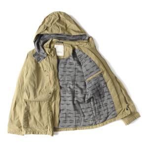 Uniforms for the Dedicated (ユニフォーム フォー ザ デディケート) タフタフードジャケット ベージュ S 【K1808】【値下げ】