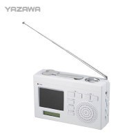 送料無料 YAZAWA(ヤザワ) ワンセグエコTV TV02WH