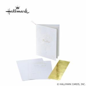 Hallmark ホールマーク ウエディングコレクション ホワイトティアラ 招待状セット 10名様用 EWA-543-044