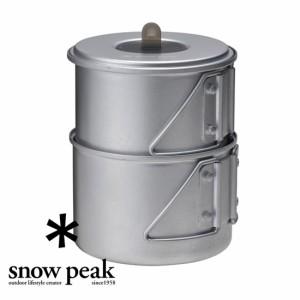 スノーピーク クッカー SCS-004R ソロセット 焚 Mini Solo Cook Set Non-stick アルミクッカー ソロキャンプ 登山 クッカー