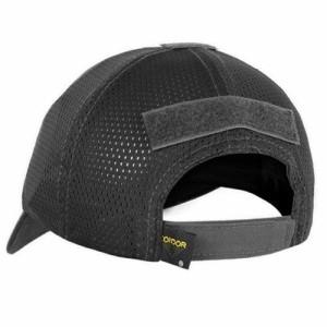 コンドル/CONDOR タクティカル メッシュ キャップ 帽子 マルチカム ブラック TCM-021