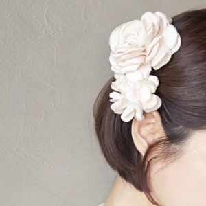 ヘアクリップ 可愛い ヘッドドレス 髪飾り ヘアアレンジ ヘッドアクセ ヘアアクセサリー 結婚式 ウエディング パーティー
