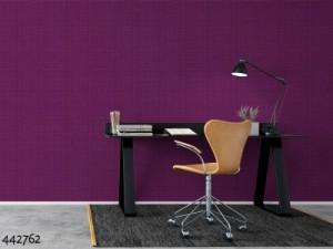 壁紙 はがせる 貼ってはがせる壁紙 rasch 輸入壁紙 ラッシュ フリース壁紙 不織布壁紙 無地 布地 リネン 織物 紫 水色 グレー 白 ホワイ