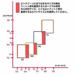 ジェーンスタイル ウィメンズ用 ストレッチ カラー ブラ JS013TUC