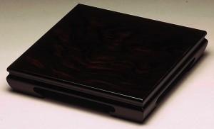 高級木製花台 黒丹 8号 (24cm) 黒檀調 華台54cm×36cm×8.5cmの木製花台です/和室/華道/園芸/床の間/内祝/新築祝 等々に・・  フラワース