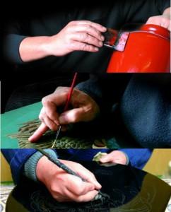 茶托 4.0寸 ダイヤカット 両面春慶塗(5枚組)直径13.5cmの茶托です【紀州漆器】 内祝 新築祝 ギフト 銘々皿 お茶 和室 おもてなし 漆器