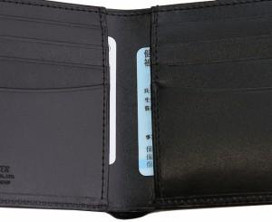 吉田カバン ポーター シーン 財布 二つ折り財布 革 小銭入れなし メンズ ブランド PORTER 110-02928