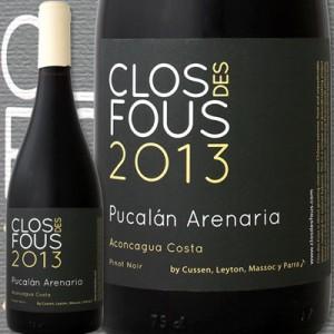 クロ・デ・フ・ピノ・ノワール・アレナリア 2013赤ワイン チリ 750ml 辛口 ミディアムフルボディ
