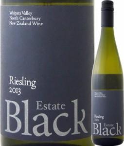 ブラック・エステート リースリング 2013【ニュージーランド】【白ワイン】【750ml】【ミディアムボディ】【辛口】