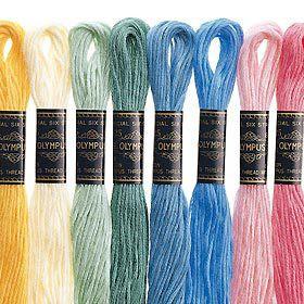 ○オリムパス 25番刺しゅう糸 581 [刺繍糸/ししゅう糸]