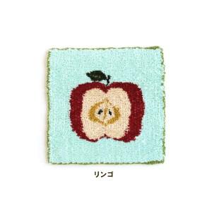★ダルマ 絵織糸 リンゴ キット/3 [絵織亜PORTABLE/毛糸/手織り/レクリエ]
