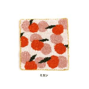 ★ダルマ 絵織糸 ミカン キット/4 [絵織亜PORTABLE/毛糸/手織り/レクリエ]