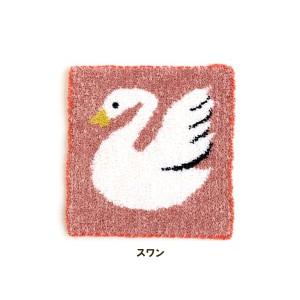 ★ダルマ 絵織糸 スワン キット/5 [絵織亜PORTABLE/毛糸/手織り/レクリエ]
