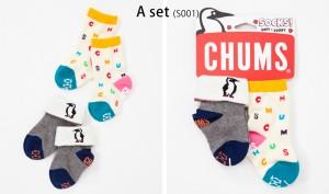 CHUMS チャムス 靴下 BABY BOOBY SOCKS ソックス CH26-1001 キッズ 子供