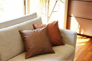 上質な日本製 クッションカバー アジアン 「LECO type-A」【送料無料 45×45 アジアン雑貨 アジアンクッションカバー バリ リゾート ソフ