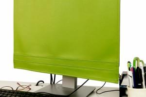 上質な日本製 ディスプレイカバー「20-24インチ用」モニターカバー「LEDIC」【PCカバー パソコンカバー パソコン カバー ディスプレイ モ