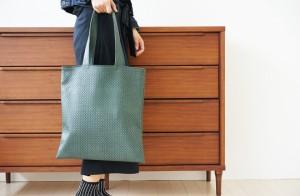 上質な日本製 かごバッグの進化版 トートバッグ「visuke」【おしゃれ トートバック 撥水加工 レディース メンズ a4 かごバック 大きめ か