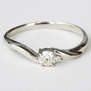ダイヤモンドリング ダイヤリング エンゲージリング ダイヤモンド0.15ct ダイヤモンド指輪 ダイヤ プラチナ PT900 送料無料 誕生日