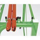 【受注生産品】トーエイライト 片面式支柱掛台KK8 B-4370