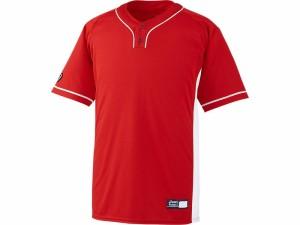 アシックスベースボール(asics/野球) ベースボールシャツ BAD021-2301