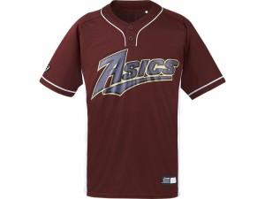 17SS アシックスベースボール(asics/野球) ベースボールシャツ BAD021-2601