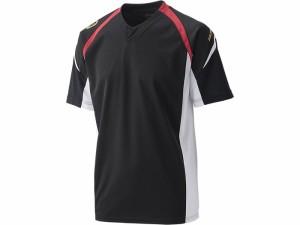大特価 アシックスベースボール(asics/野球) オールウエザープラクティスシャツ BAD102-9001