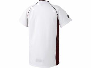 アシックスベースボール(asics/野球) Jr.ベースボールシャツ(ジュニア) BAD11J-0126