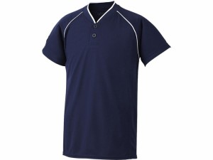17SS アシックスベースボール(asics/野球) Jr.ベースボールシャツ(ジュニア) BAD11J-5050