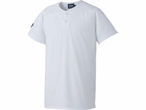 17SS アシックスベースボール(asics/野球) Jr.ベースボールシャツ(ジュニア) BAD13J-01