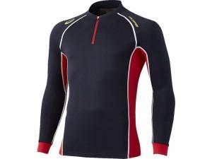 17SS アシックスベースボール(asics/野球) ゴールドステージ ブレードサーモシャツ BAD200-5023