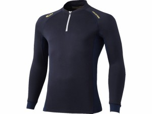 17SS アシックスベースボール(asics/野球) ゴールドステージ ブレードサーモシャツ BAD200-5050