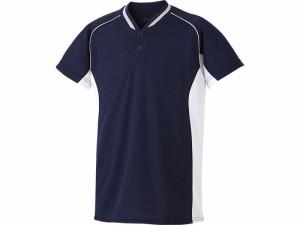 アシックスベースボール(asics/野球) Jr.ベースボールシャツ(ジュニア) BAD20J-5001
